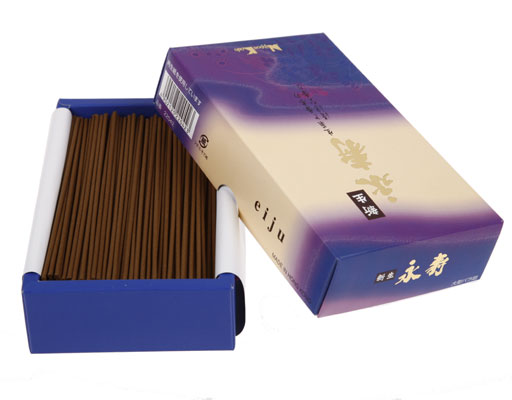 Shinsei Eiju  -  Herbal Woody Sandelwood - Big Box - Japansk røgelse