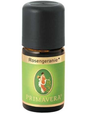 Image of   Rose Geranium - Økologisk Olie - 5ml - Primavera