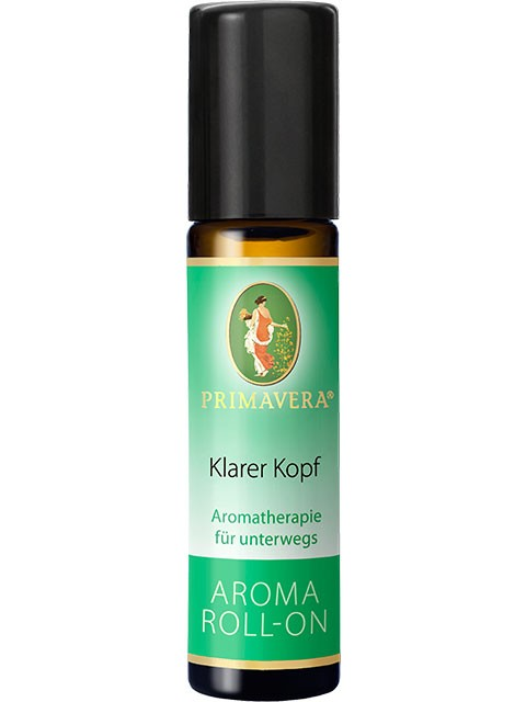 N/A Primavera clean mind roll-on - 10 ml på bog & mystik