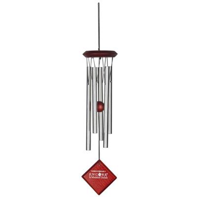 Vindklokke Merkur sølv - 35cm - Vindspil