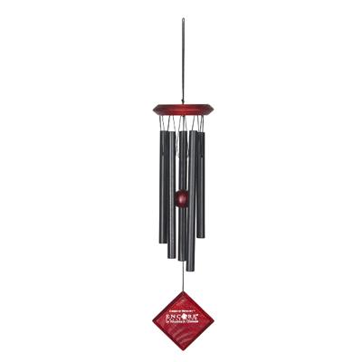 Vindklokke Merkur sort - 35cm - Vindspil
