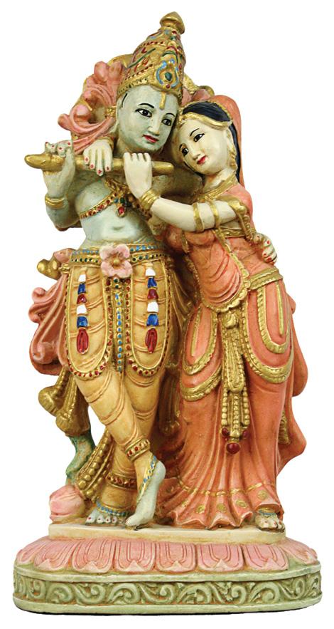 Radha og Krishna - 19cm