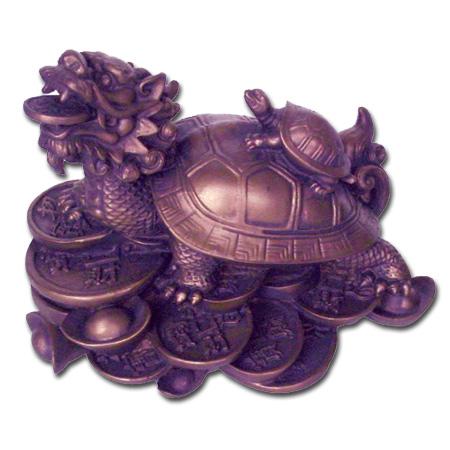 Drageskildpadde - 10x11cm