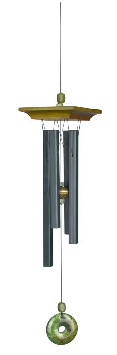 N/A – Vindklokke med jade - 55cm - vindspil fra bog & mystik