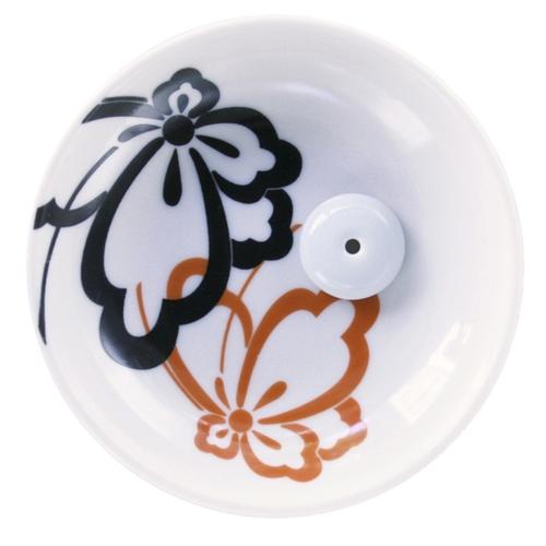 N/A Japansk røgelsesholder - butterfly på bog & mystik