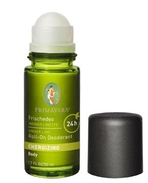 N/A – Primavera lime & ingefær frisk deodorant - økologisk fra bog & mystik