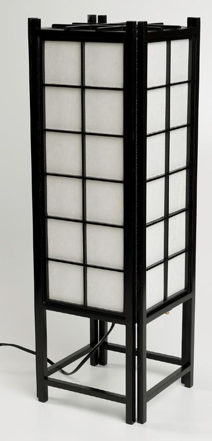 Japansk lampe fra N/A på bog & mystik