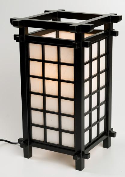 N/A Japansk lampe fra bog & mystik