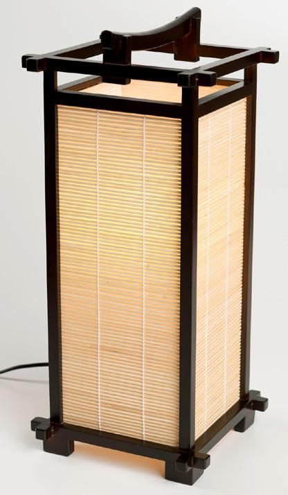 Japansk lampe fra N/A fra bog & mystik
