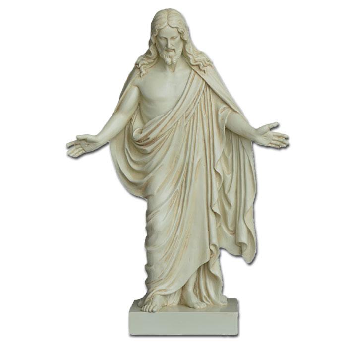 Image of   Thorvaldsens Kristus figur - 32cm