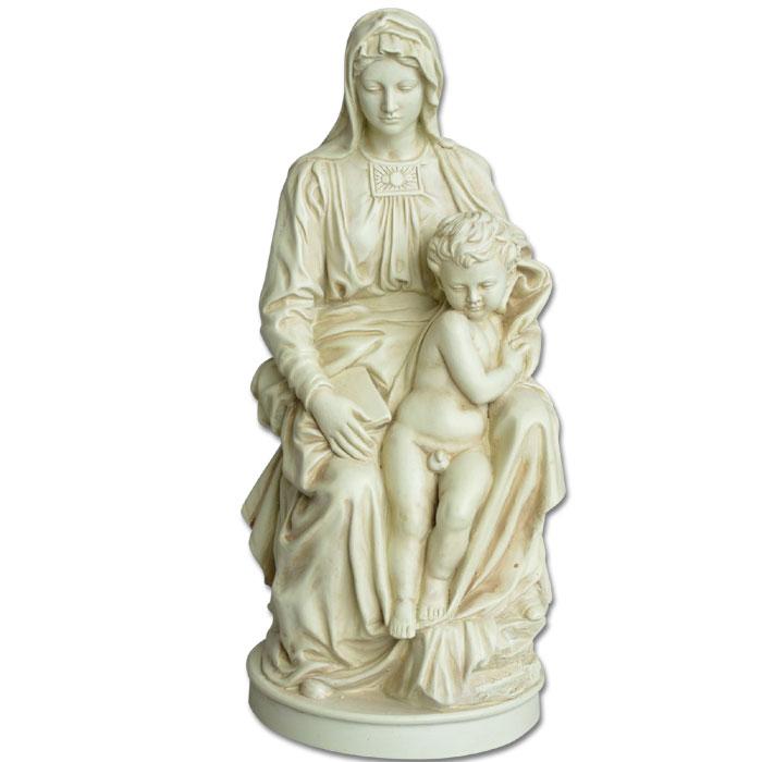 Image of   Michelangelos Madonna med Jesusbarnet - 24cm