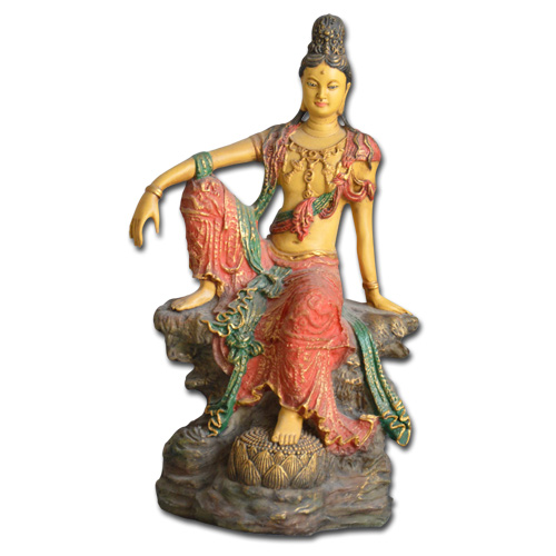 Image of   Kuan-Yin figur - Royal Ease - 24cm