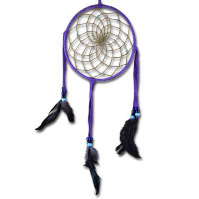 N/A Drømmefanger - navajo purple på bog & mystik
