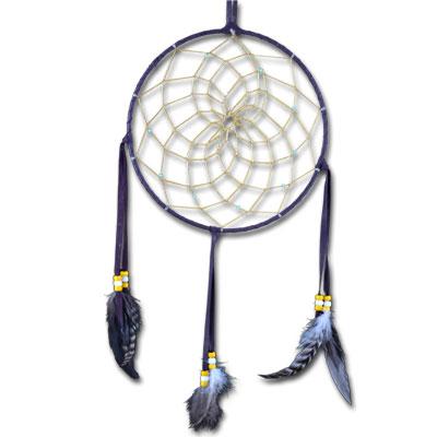 Drømmefanger - navajo dark purple fra N/A på bog & mystik