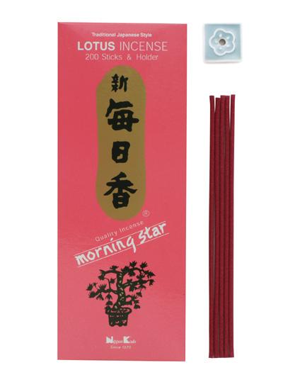 Image of   Japansk røgelse - Lotus - Morning Star - Røgelsespinde