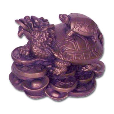 Drageskildpadde - 6x8cm