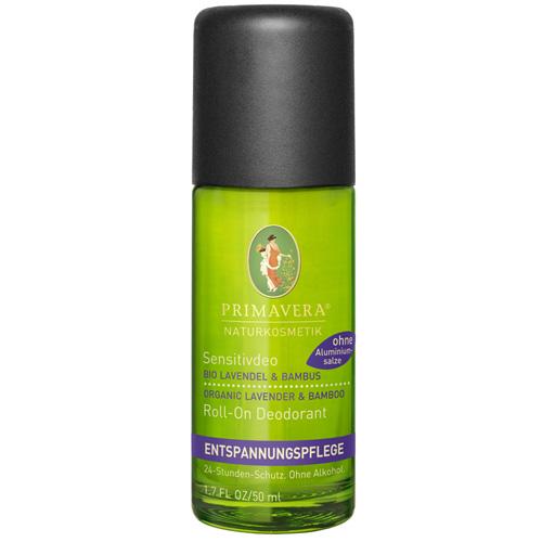 N/A – Primavera lavendel & bambus deodorant - økologisk på bog & mystik