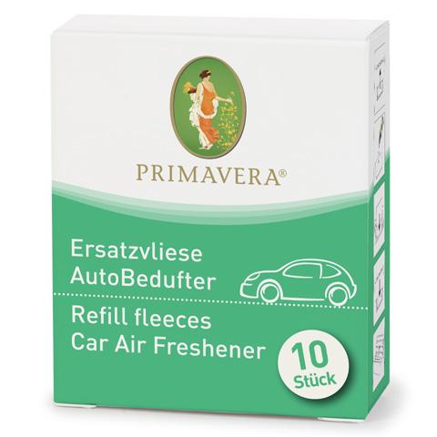 Image of   Ekstra fleece til bil duftfrisker - 10 stk - Primavera