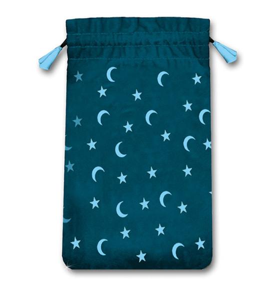 N/A Tarotkort / englekort pose med måner og stjerner på bog & mystik