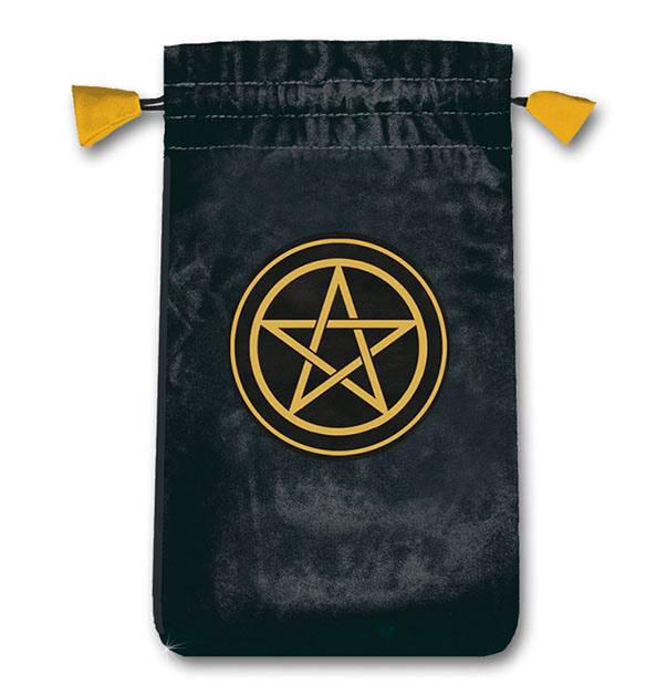 N/A Tarotkort / englekort pose med pentagram på bog & mystik