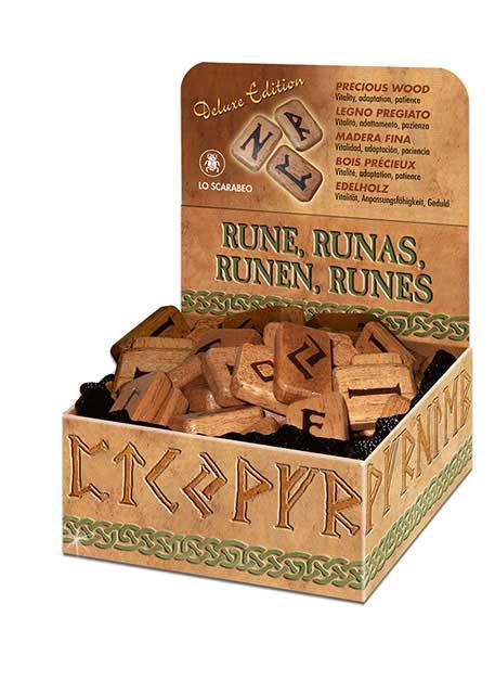 Runesæt - Træ delux