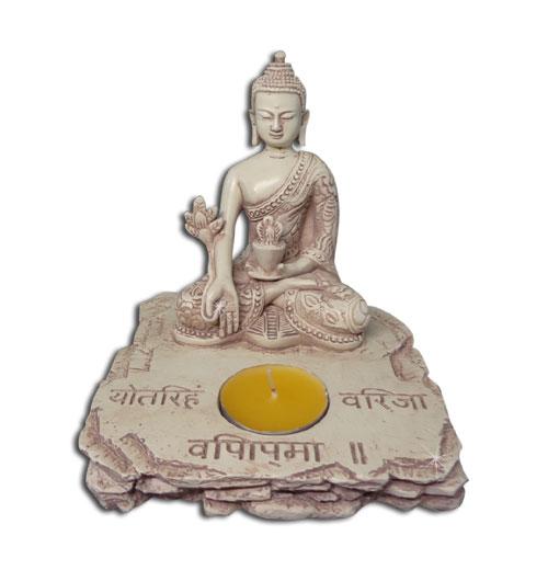 Medicin Buddha figur