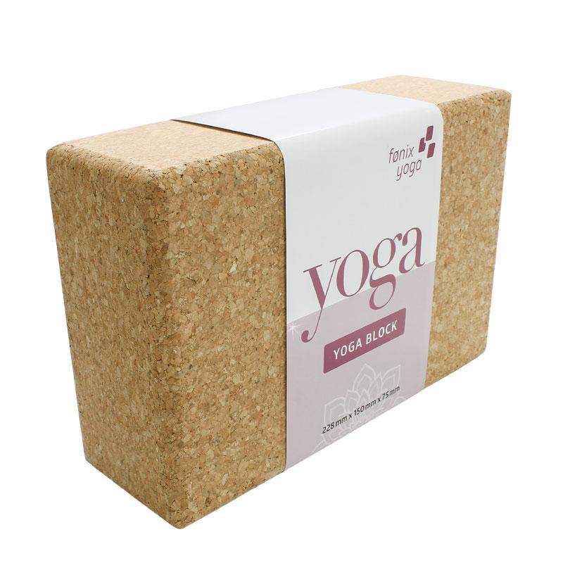 Yogablok - kork
