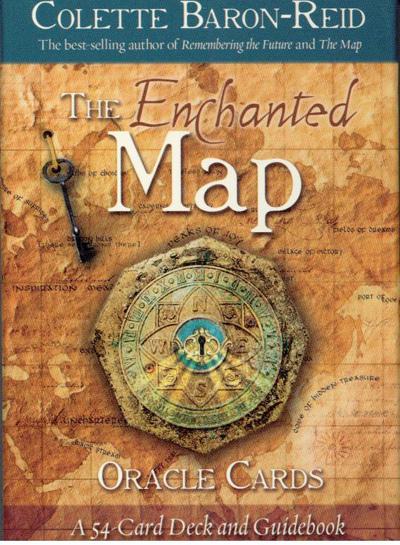 N/A The enchanted map oracle cards fra bog & mystik