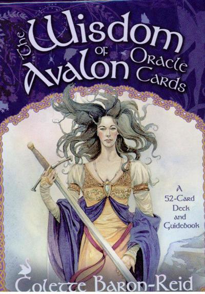 Wisdom of avalon oracle cards fra N/A på bog & mystik