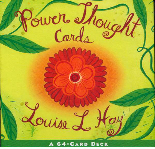 N/A – Power thought cards - louise l hay fra bog & mystik