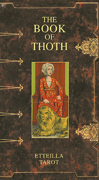 Image of   The Book of Thoth - Etteilla Tarot