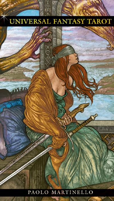 N/A Universal fantasy tarot på bog & mystik