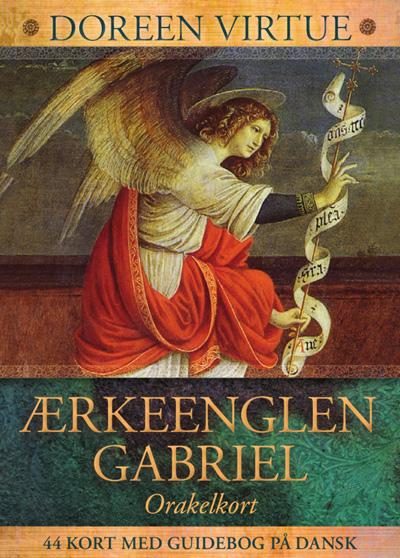 ærkeenglen gabriel - doreen virtue - på dansk - danske englekort fra N/A på bog & mystik