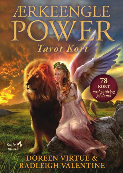 Ærkeengle Power Tarotkort - Doreen Virtue - på dansk - Danske tarotkort