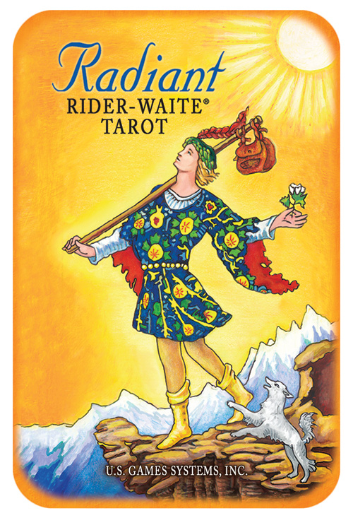 Image of   Radiant Rider-Waite - Tin boks - Tarotkort