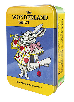 Image of   The Wonderland Tarot - Tin boks