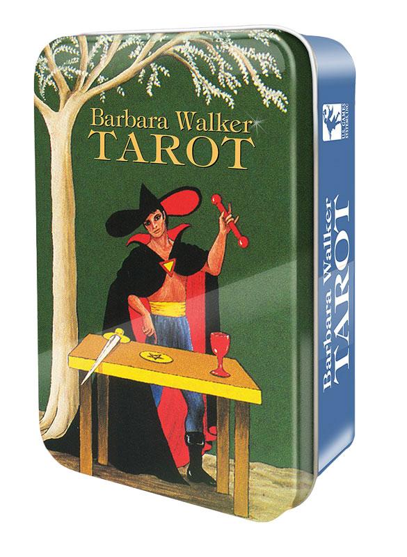 Image of   Barbara Walker Tarot in a Tin