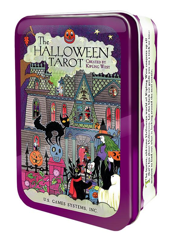Image of   Halloween Tarot in Tin