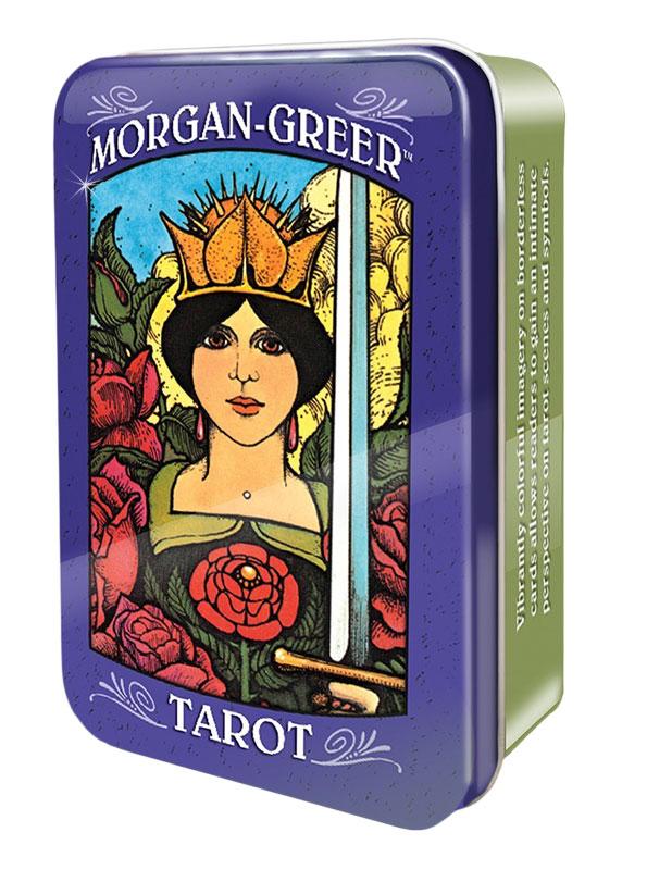 Image of   Morgan-Greer Tarot in a Tin