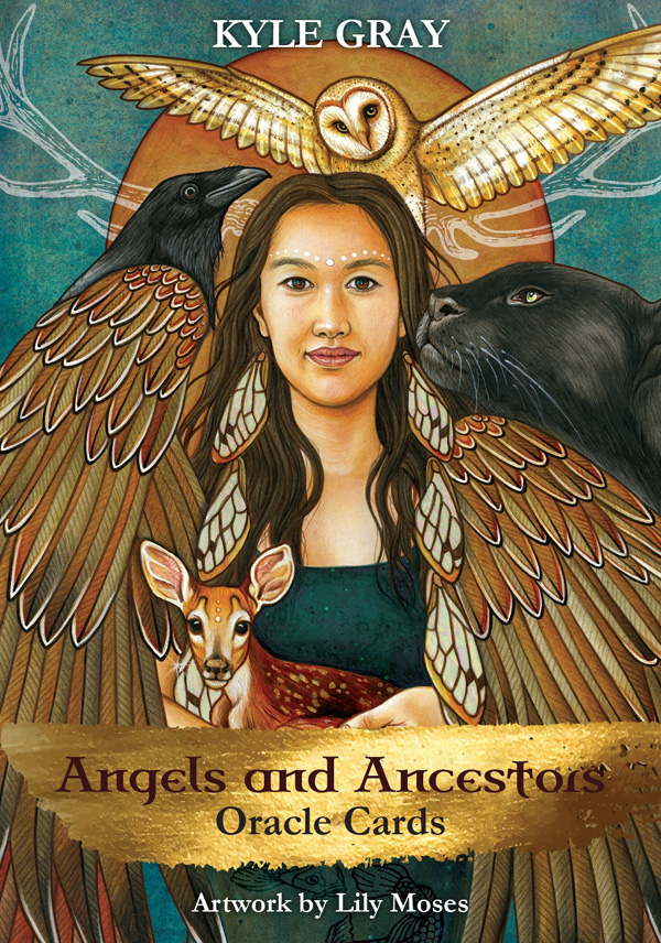 Angels and the Ancestors - orakelkort - Kyle Gray