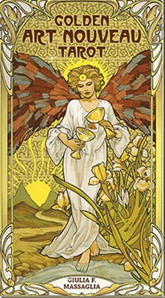 Image of   Golden Art Nouveau Tarot