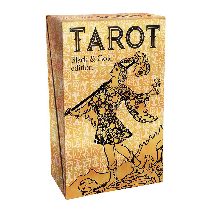 Image of   Tarot Black and Gold Edition
