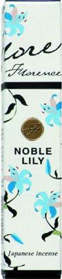 N/A Florence - noble lily - japansk røgelse på bog & mystik
