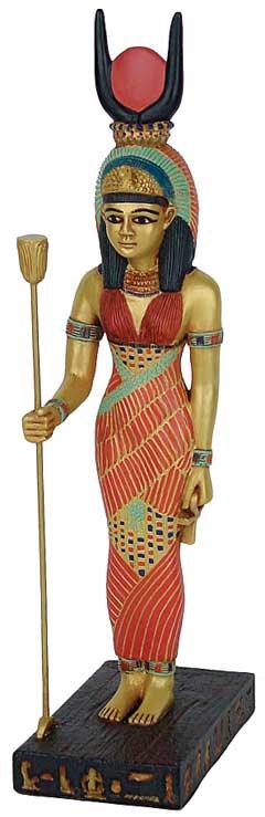 Image of   Isis figur - 24cm - Egyptisk figur