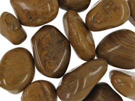 Jaspis gulbrun - pr sten fra N/A fra bog & mystik