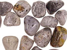 Image of   Jaspis isblå - pr sten