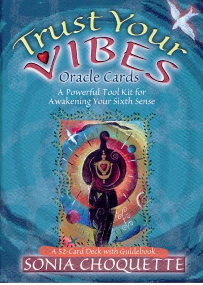 Trust your vibes oracle cards - sonia choquette fra N/A på bog & mystik