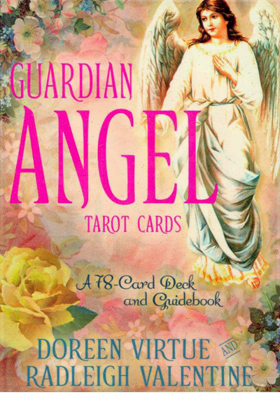 Image of   Guardian Angel Tarot Cards - m/engelsk brugervejl - Doreen Virtue og Radleigh Valentine