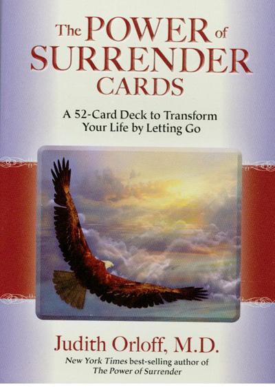 The power of surrender cards fra N/A fra bog & mystik