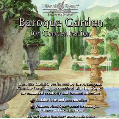 N/A – Baroque garden for concentration - hemi-sync på bog & mystik